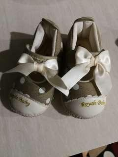 Baby Girl Soft Soles Shoes ( Royal Baby ) #MMAR18