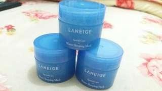 (Free ongkir) Take all 3pcs Laneige Water Sleeping Mask