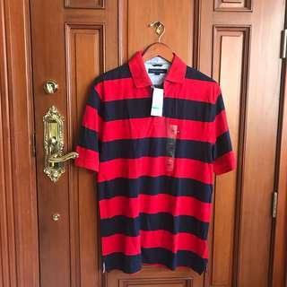 TOMMY HILFIGER Polo Shirt NEW W/TAGS (similar: Lacoste)