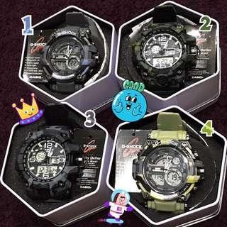 saleclaw machine(brand new)cold light watch 娃娃機出貨 全新未使用 g-shock casio 運動款冷光手錶⌚️迷彩特別版
