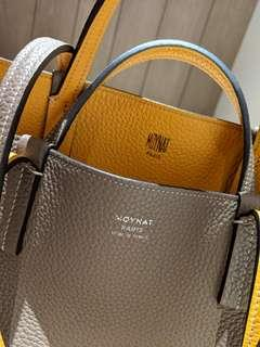 Moynat reversible leather tote with SG full set
