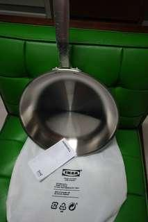 IKEA Fry Pan Stainless Steel 11 inches diameter