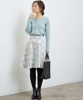 ✨NEW!唯美~日本rope picnic蕾絲花紋半身傘裙