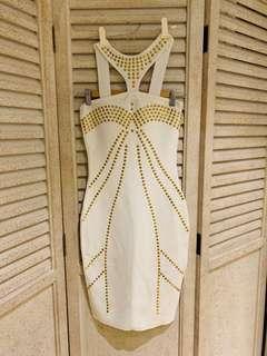 Bandage Studded Dress $22