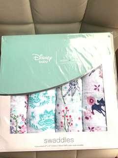 💕超靚特別版Bambi x aden+anais Disney 小鹿斑比💝Swaddle/包巾/被仔/餵奶巾120x120cm