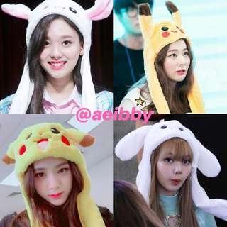 Pikachu & Bunny Ear Hat / Inflatable <GO>