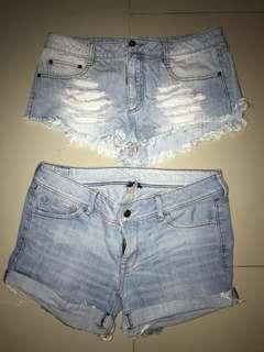 BUY 1 TAKE 1 SHORTS American Eagle and F21 shorts