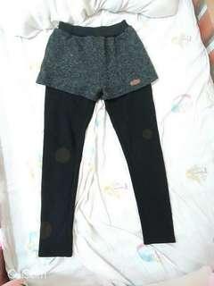 🚚 暖冬💓內刷毛假兩件長褲