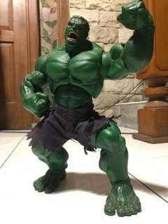 """Hulk Poseable Deluxe Action Figure 13"""" Toy Biz 1st Movie 2003 Rotocast"""