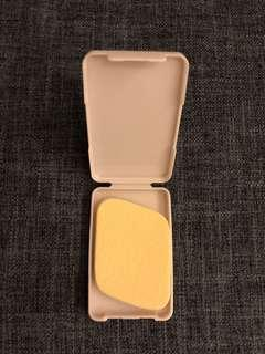 全新 Sofina 粉樸連盒 liquid foundation make up sponge