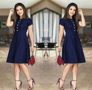 US Denim Dress High Quality