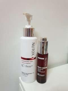 Nutox Serum Concentrate & Nutox Cleaser Gel