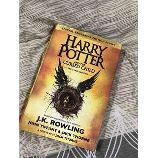 Harry Potter and the Cursed Child - Parts One & Two (Special Rehearsal Edition) (Hardbound)
