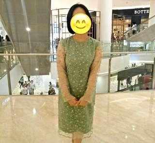 FREE ONGKIR - DRESS BROKAT GLITTER KONDANGAN 300 BUNGKUS