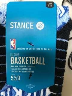 🚚 Stance sock nba 559 L Toronto huskies retro