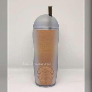 Starbucks Wood Nature Cold Cup Tumbler