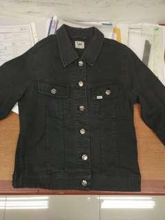 Jaket jeans LEE original not levis guess zara pull n bear trucker nudie selvedge ripped murah