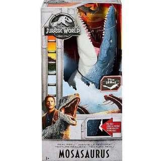 Jurassic World Fallen Kingdom Real Feel! Mosasaurus (Super Colossal Tyrannosaurus Rex T-Rex Indoraptor Marvel Legends Select DCUC Universe Classics Multiverse Collectibles)