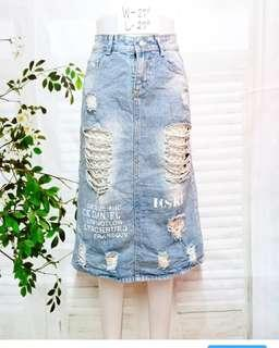 Mochino Denim skirt