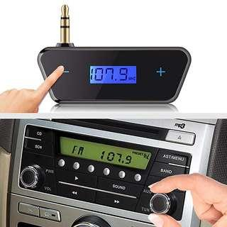 Hands-free Music and Calls ! FM Transmitter !!