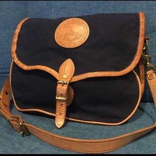 Yuketen messenger bag Made in USA indigo vintage worker