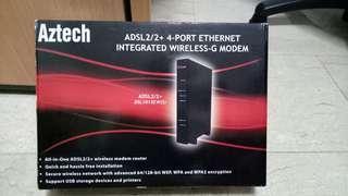 FOC Aztech Integrated Wireless-G Modem