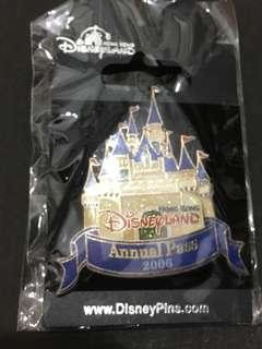 HKDL 2006 Annual Pass Pin