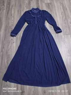 (PRICE REVISED) Navy Blue Maxi Dress