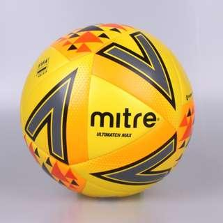 Mitre Ultimatch Max Soccer Ball (Yellow)