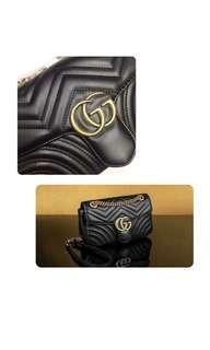 Gucci Marmount Black Bag