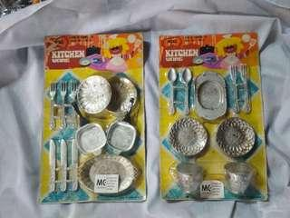 Vintage toys kitchen ware mini