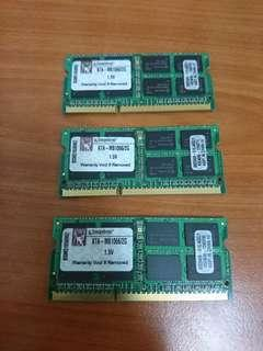 Macbook ram 2gb 1066mhz ddr3 pc3-8500