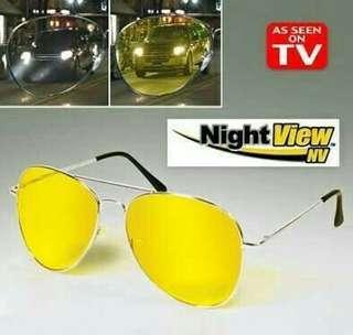 Kacamata Night View Penetral Cahaya
