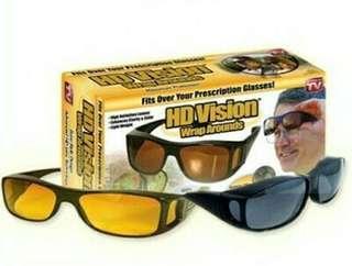 Kacamata Driver Siang Malam Set penetral cahaya