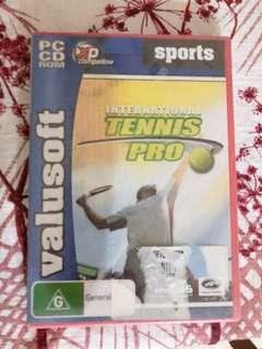 Tennis PC game
