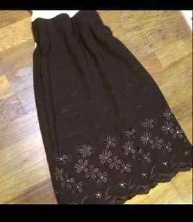 古著 高質感 長裙