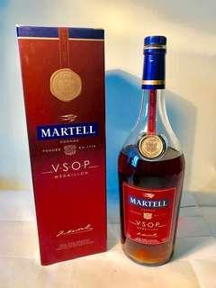 Martell VSOP - 1 liter Bottle