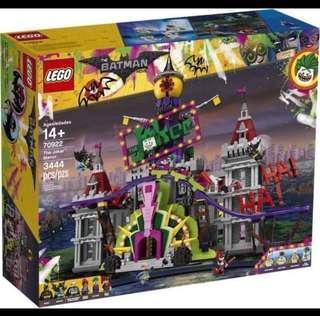 Lego The Batman movie 70922 Joker park