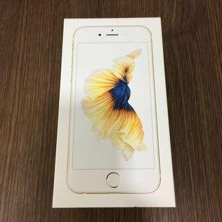 Empty iphone 6s box