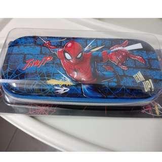 New! 3D Cartoon EVA Hard Multifunction Pencil Case for Kids ( Blue Spiderman)