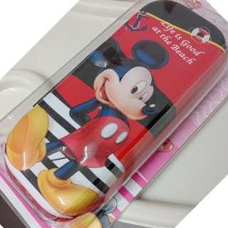 New! 3D Cartoon EVA Hard Multifunction Pencil Case for Kids ( Red Mickey)