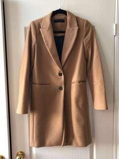 Zara Camel Jacket size XS