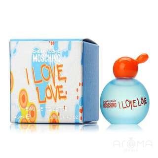 Moschino mini perfume