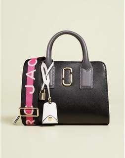 Marc Jacobs • Little black shot satchel