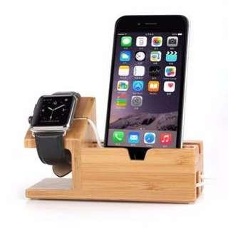 USB Charging Dock Station for Apple Watch & IPhones