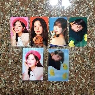 [WTS / WTT] Red Velvet 11street Season Greeting Cards