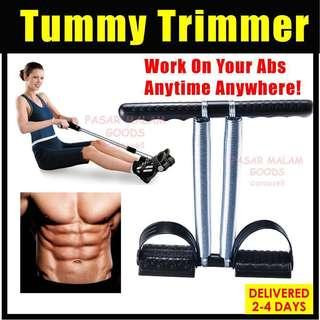 Instock Tummy Trimmer Abs Abdomen Workout Excercise Home Gym Equipement Pedal Pull Resistance