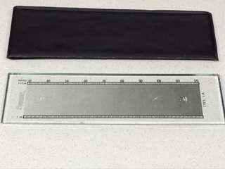 Vintage Thread Measuring Ruler