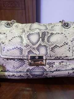 💯Authentic Tory Burch ( Genuine snake)