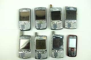 7 Palm Pilots